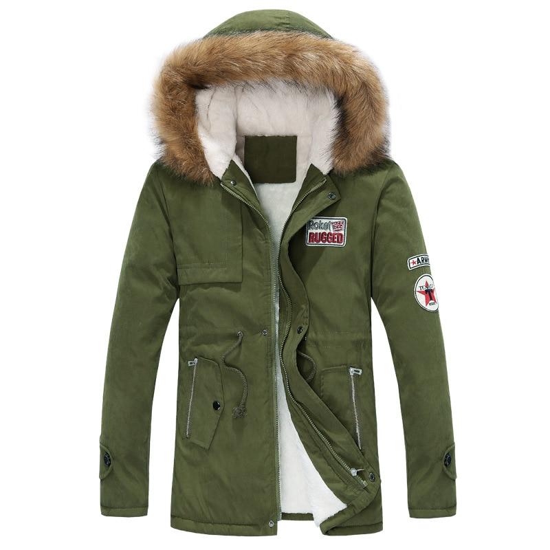 Мужская Теплая стеганая куртка размера плюс, зимняя длинная парка с капюшоном, для русской зимы, размера плюс, 2019|Парки| | АлиЭкспресс