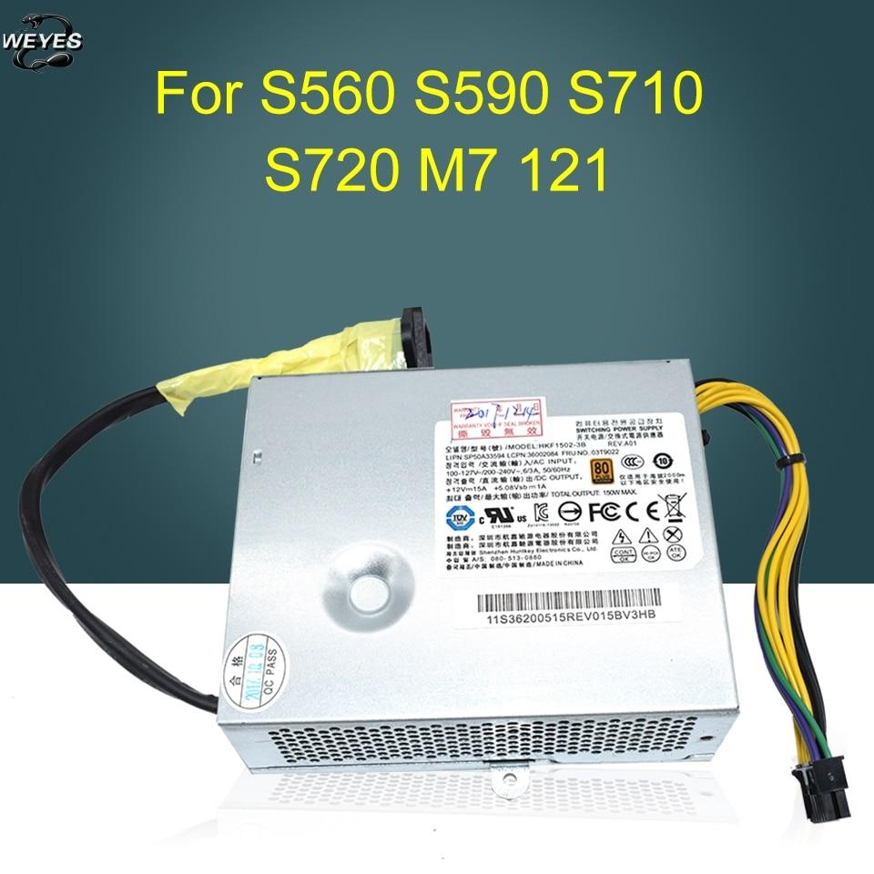 03T9022 54Y8892 pour S560 S590 APA004 APA005 HK1502 150W alimentation garantie D'un an