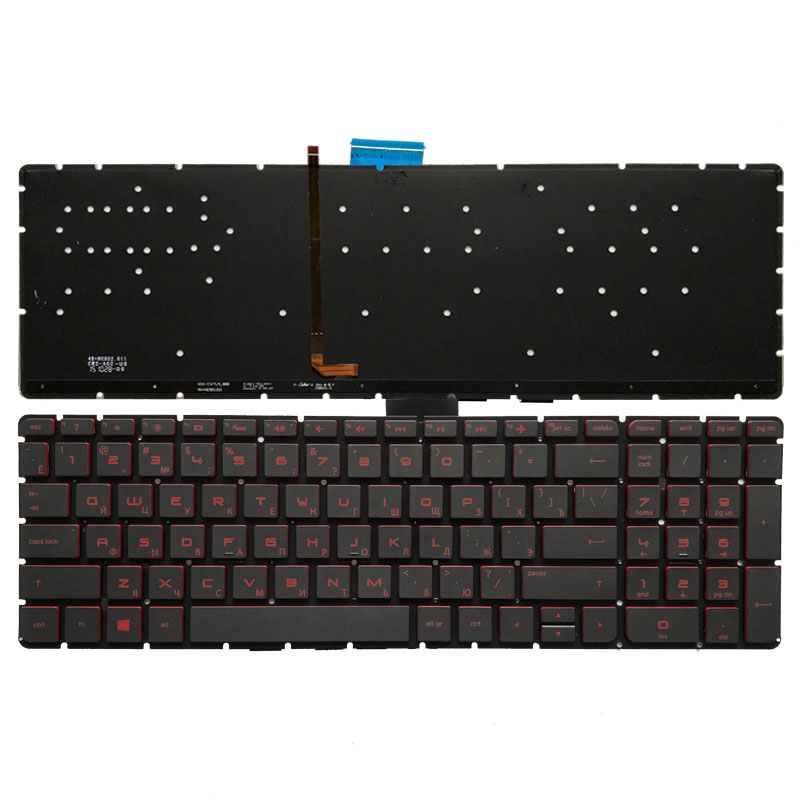 Russian Backlit Keyboard For HP Omen 17-W000 17-W100 17-W200 17t-w000 17t-w100 17t-w200 17-w001la 17-w101la 17-W 17-w202la RU