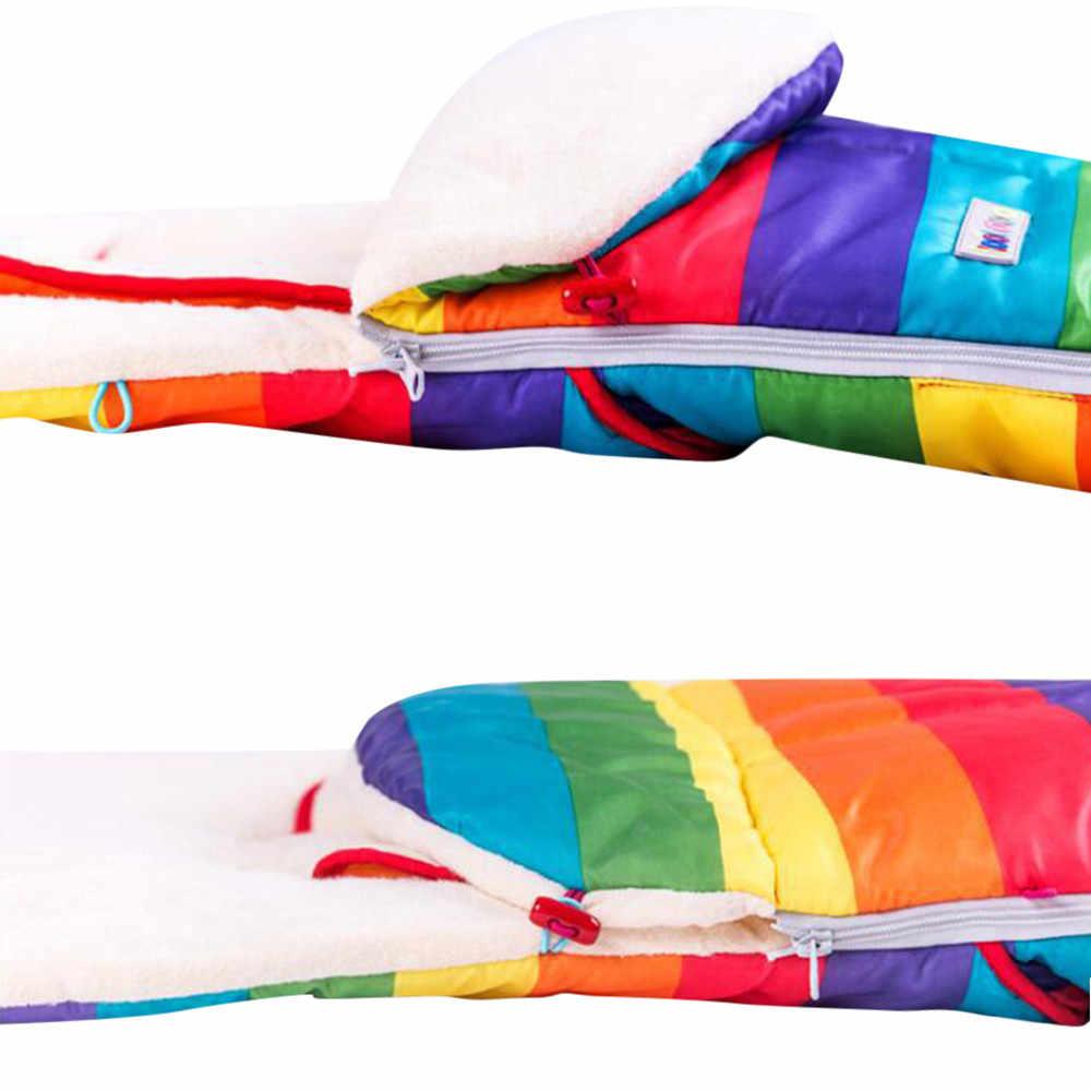เด็กวัยหัดเดินเด็กฤดูหนาวฤดูหนาวรองเท้าผ้าใบ Universal Footmuff ผ้ากันเปื้อน Liner Buggy Pram รถเข็นเด็ก Sleeping windproof WARM หนาผ้าฝ้าย Pad