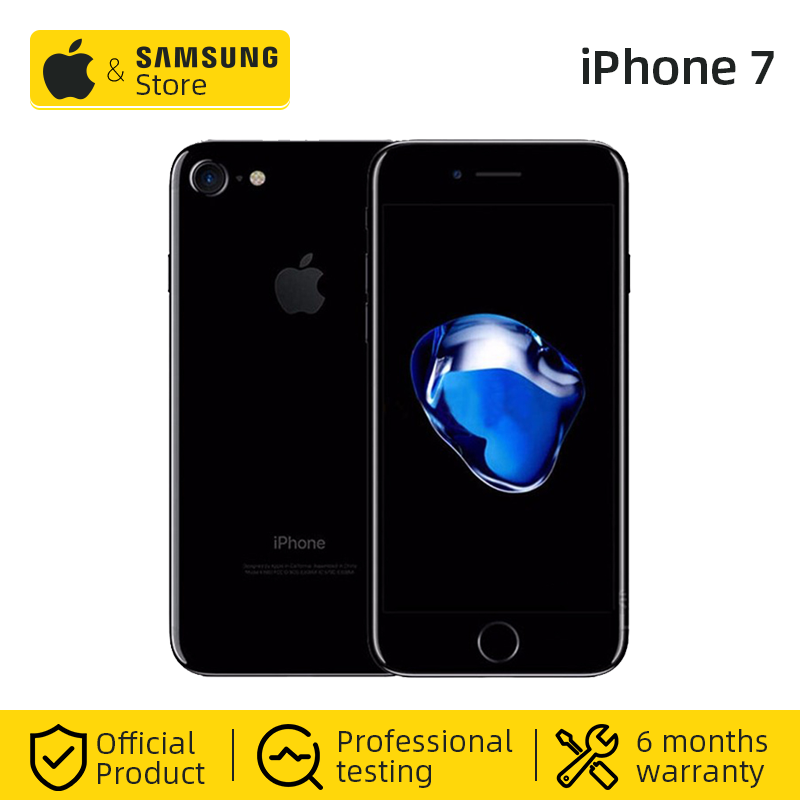 Unlocked Apple IPhone 7 4G LTE Global 32/128GB ROM IOS Mobile Phone (Used 99% New)