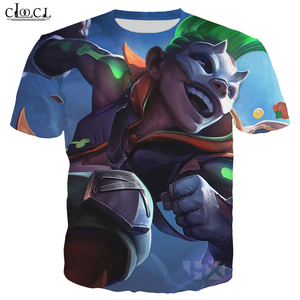 Image 3 - CLOOCL Popular Game T Shirt Men/Women 3D Print T Shirts Casual Style Hero Skin T shirt Sweatshirt Tops T323