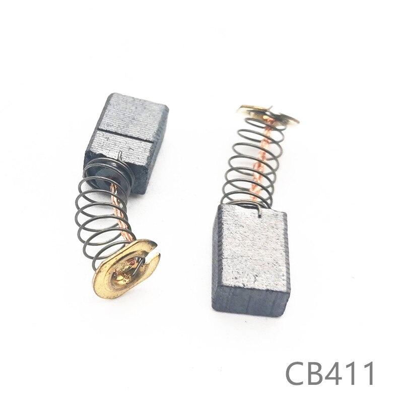 Carbon Brushes Replace For MAKITA  CB-411 9911 9520NB 9521NB 9522NB 9523NB 9524NB 9526PB 9527NB 9527PB 9528NB 9528PB MT372