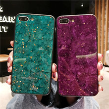 Glitter Epoxy Marble Phone case For iPhone 6 6S 8 7 Plus X cases Soft TPU Bling Back Cover For iPhone 7 8 Plus iPhone XR XS case цена и фото