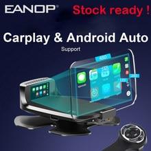 EANOP M60 HUD 7'' Digitale OBD2 Head Up Display Auto Media Projektor Unterstützung Carplay Andorid Auto FM google GPS Navigation aux