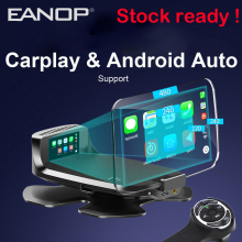 Eanop M60 Hud 7 ''Digitale OBD2 Head Up Display Auto Media Projector Ondersteuning Carplay Andorid Auto Fm Google Gps navigatie Aux