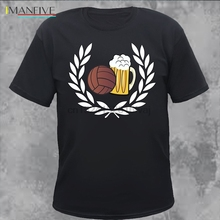 Summer Casual Laurel Football Beer T-shirt Ultras Fans Men Cotton T Shirts
