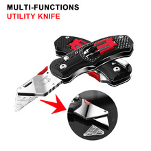 KSHIELD Electrician Knife Folding Utility Cutting Pocket Tool Multifunction Camping Survival Karambit Knives EDC Hand