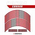 Аксессуары для мотоциклетного гоночного оборудования, украшение обода колеса, клейкая Светоотражающая наклейка для HONDA CB650R cb 650r