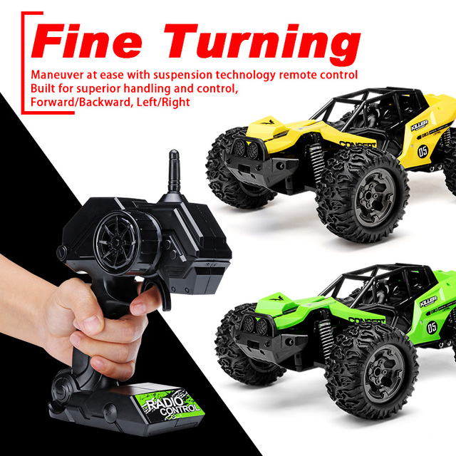NEW 1:12 RC Car Scale Remote Control Car 48 +km/h High Speed Off Road Vehicle Toys RC Car for Kids and Adults 3
