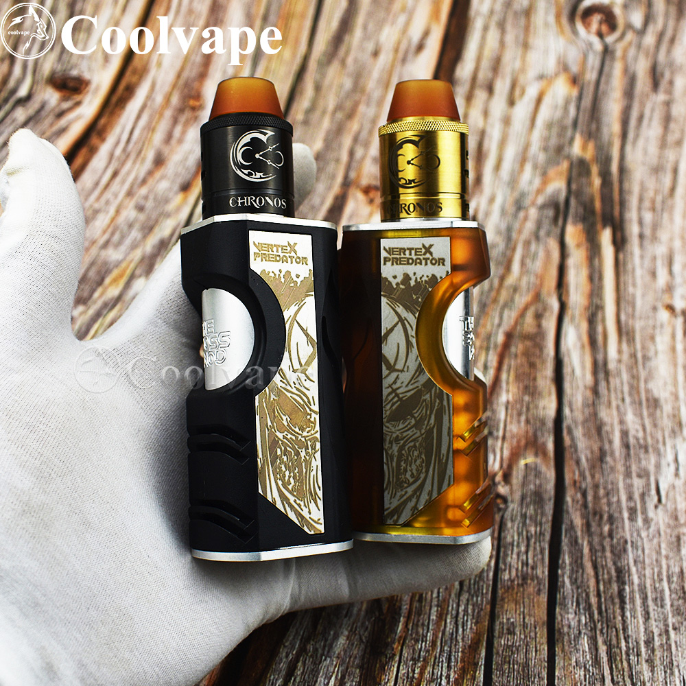 Coolvape Vertex Mod CHRONOS RDA 18650/20700 Battery Aluminum+pei/pom Material Mechanical Mod Fit Thc Tauren Rda