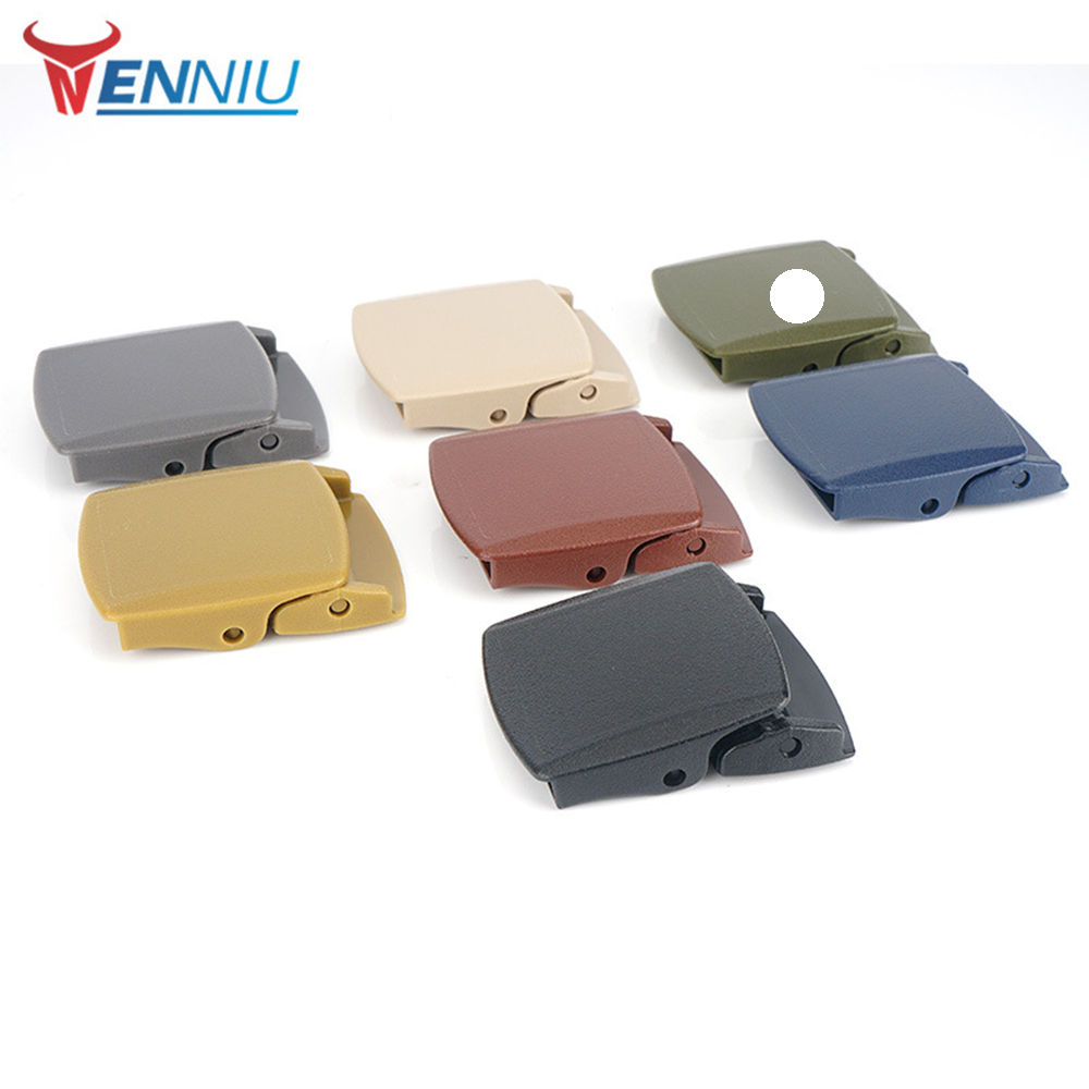 Belt Buckle Environmental Protection 2019 New Fashion Cycle Clothing Casual Solid Color Genuine Fastener Belt Buckle