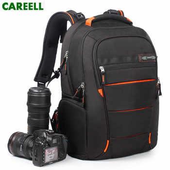 CAREELL Bag C3050 DSLR Camera Bag Photo Bag Camera Backpack Universal Large Capacity Travel Backpack For Canon/Nikon Digital Cam - DISCOUNT ITEM  48% OFF All Category