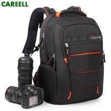 Careell Túi C3050 Máy Ảnh DSLR Túi Hình Túi Ba Lô Đa Năng Công Suất Lớn Ba Lô Du Lịch Cho Canon/Nikon Kỹ Thuật Số cam