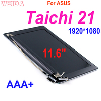 LCD Replacement 11.6 For ASUS Taichi 21 LCD Display Touch Screen 1920*1080 A B Case Upper w Frame Assembly TAICHI21 Repair Part