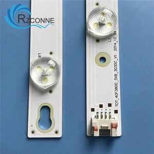 """Image 5 - Led Backlight Strip 8 Lamp Voor Tcl 40 """"Tv L40F3303B L40F3301B L40F3800A TOT_40F3800_3X8_3030C V1 LVF400SS0TE2V2 LED40D2710B"""