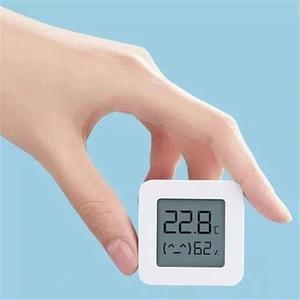 Image 3 - [Versão mais recente] xiaomi mijia bluetooth termômetro 2 sem fio inteligente elétrico digital higrômetro termômetro trabalhar com mijia app
