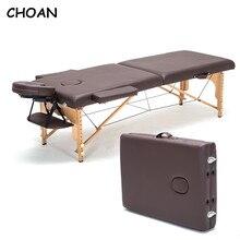 185cm * 60cm giường + vỏ gối + Gối CHỮ U + Tay Spa hình xăm vẻ đẹp nội thất di động gấp gọn giường massage Salon massage