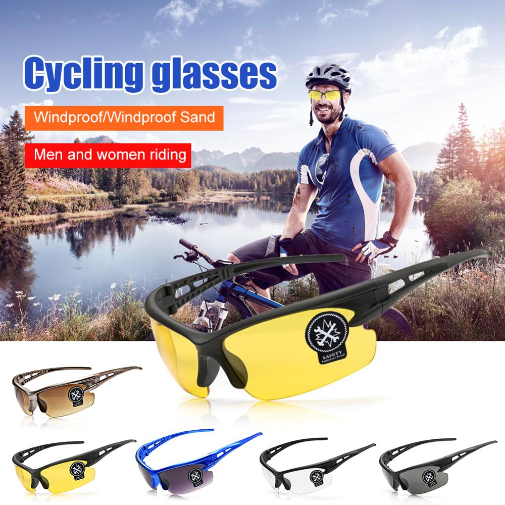 Outdoor Cycling Polarized Glasses Running Windproof Protective Sunglasses