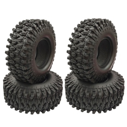4PCS 1.9 inch Rubber Tyre 1.9 Wheel Tires 108X40MM for 1/10 RC Crawler Traxxas TRX4 Axial SCX10 90046 AXI03007
