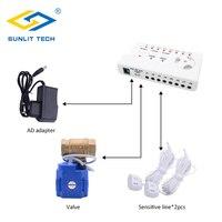 Vender https://ae01.alicdn.com/kf/H4f312c68ec0e48579454747e6a144df2D/Sensor de fugas de agua sistema de alarma DN15 DN20 DN25 válvula con 2 uds cables.jpg