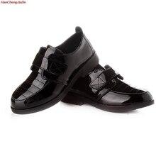 Children Leather Shoes Boys Girls Loafers Moccasins Wedding Dress Schoo