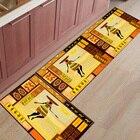 2Pcs/Set Kitchen Mat...