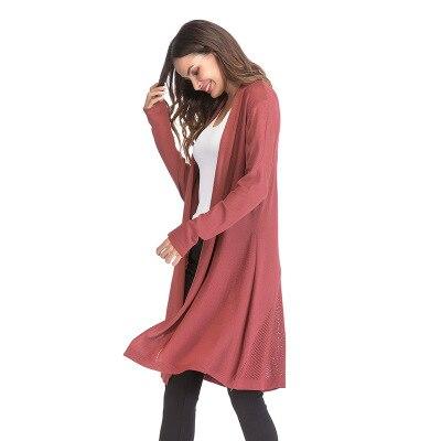 Automne hiver tricoté maternité chandails robe vêtements pour femmes enceintes automne élégant grossesse chandails manteau