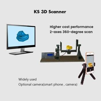 HE3D KS 3D photogrammetry scanner DIY 3d scanner kit scanning Dental teeth model 1