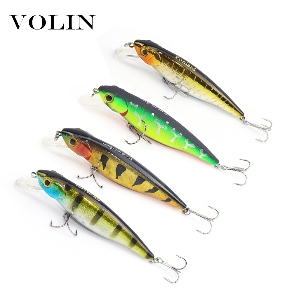 VOLIN Wobbler Magallon 80mm 9g Magnet Suspend Bionic Minnow Lure Artificial Wobblers Bait Hard Bait Professional Fishing Lure