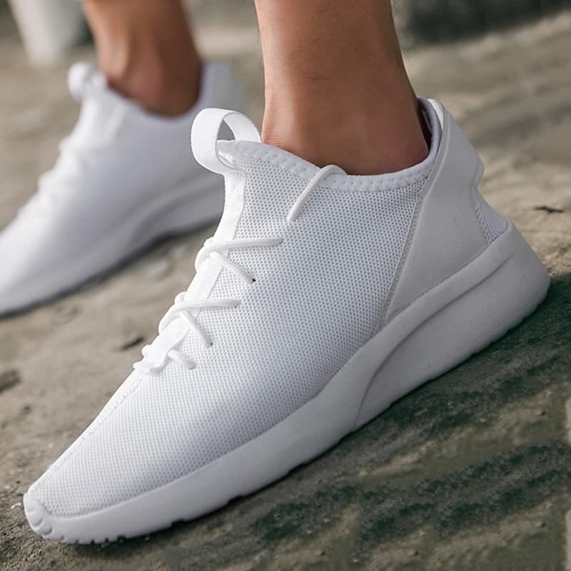 Grande tamanho masculino leve sapatos casuais branco 47 esportes ao ar livre correndo tendência da moda confortável respirável verão 2020 novo