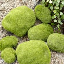Simulation Moss False Green Stone Rock Lichen Plant Miniature Photography Shooting Background Adornment Photo Studio Accessories