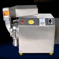 DLF40 ziołowy Pulverizer ciągłe młyny paszowe, najdrobniejsza maszyna proszkowa, szlifierka do ziaren, maszynki do mielenia ziół 2200w