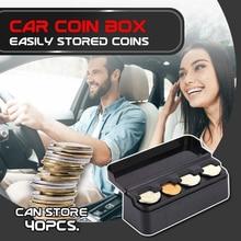 Case Container Storage-Box-Holder Coins Car QJY99 Premium Dual-Use Home