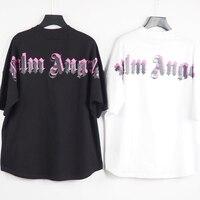 T-Shirt da uomo a manica corta con Logo a manica corta Palm angeli 21SS, Unisex, amanti, stile coppia, cotone, regalo fidanzato 2066