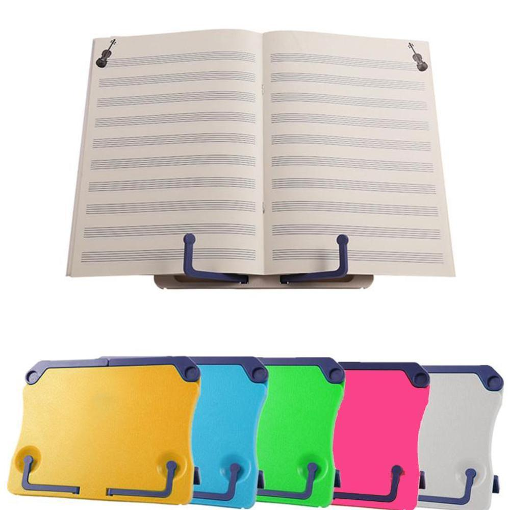 Portable Bookend Stand Reading Book Stand Books Folding Holder Organizer For Music Score Recipe Tablet Office School Supplies