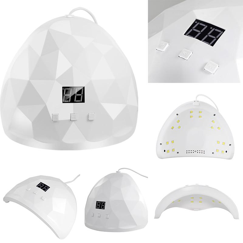 XZMUV 88 Вт Сушилка для ногтей УФ ногтей лампа для маникюра сушка для сушки ногтей гелевая ледяная лака для ногтей 18 светодиодный Авто Сенсор а-...