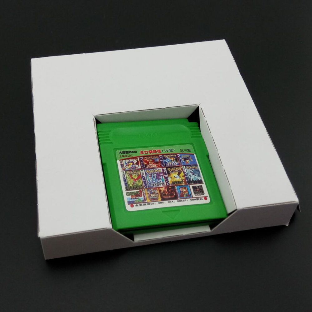 10 pcs a lot Carton Replacement Cardboard Inner Inlay Insert Tray For GBA or for GBC <font><b>Game</b></font> Cartridge US version image