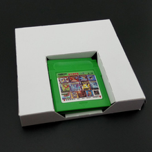 10 pcs a lot Carton Replacement Cardboard Inner Inlay Insert Tray For GBA or for GBC Game Cartridge US version