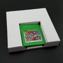 Bandeja de cartón de repuesto para cartucho de juego GBA o GBC, 10 Uds.