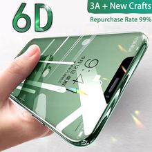 3D zakrzywione 9H ochraniacz ekranu 6D pełna pokrywa szkło hartowane dla iPhone 6 6S 7 8 Plus X XR Xs 11 12 mini Pro Max SE 2020 najlepsze tanie tanio YKSPACE Anti-Blue-ray CN (pochodzenie) Przedni Film Apple iphone Iphone 6 plus IPhone 6 s Iphone 6 s plus IPHONE 7 IPHONE 7 PLUS