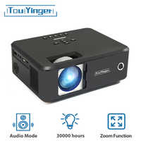 Touyinger X20 Best Brand Mini LED 480P 720P projector full hd 1080P video HDMI home theater cinema USB LCD TV 3D movie projector