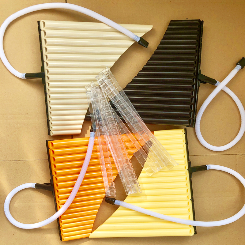 Pan Flute 18 Pipe Alto C Multifunction Panpipe Flauta Pan ABS Resin For School Student Musical Instruments Flauta De Pan Romania