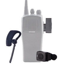 HUOSLOOG Walkie Talkie Wireless Headset M Plug Bluetooth Two Way Radio Headphone Earphone For MOTOROLA
