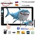13 языков автомобильное радио MP5 MP4 плеер Поддержка TF/USB/FM/Auxin двойной 2 DIN сенсорный экран стерео Поддержка зеркало задней камеры ссылка