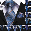 Men's Paisley Occasion Necktie-Sets