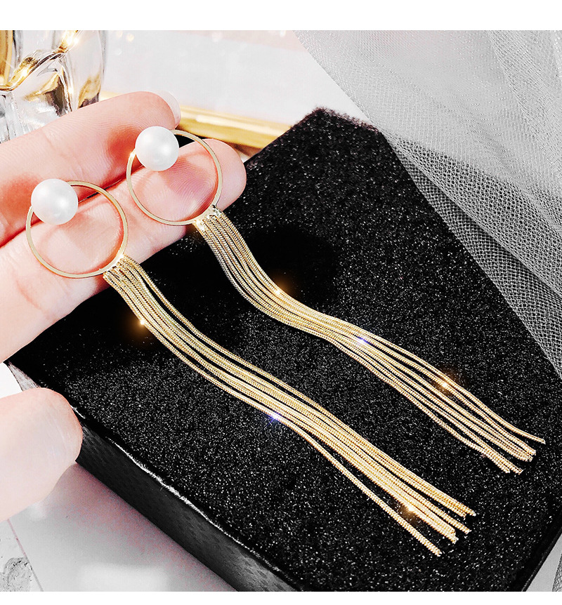 Retro Personality Earrings Women Hot New Statement Fashion Vintage Geometric Tassel Earrings Charm Accesories Trending Products