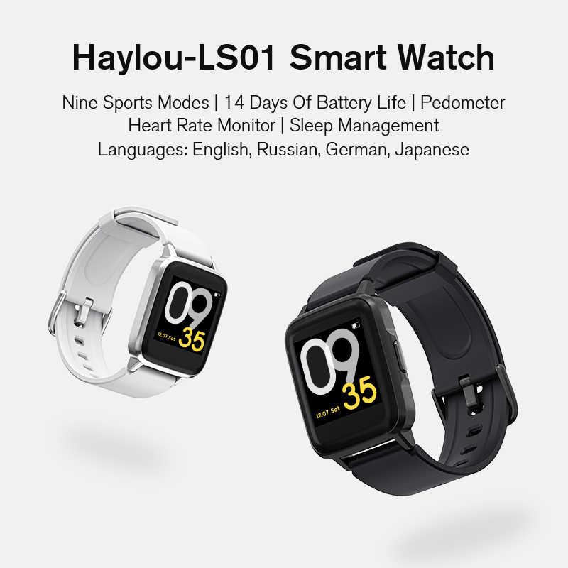 Haylou LS01 Globale Versione 9 Sport Modalità di Gestione Intelligente Orologio IP68 Sonno Impermeabile Universale Bluetooth di Modo di Banda Intelligente