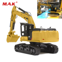 In Stock 1:50th Alloy Diecast TR40003 Excavator Engineering Truck Vehicles Model Collection Toys For Fans Kid Children Gifts