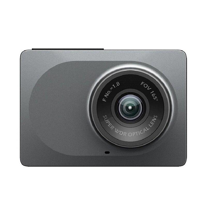 Видеорегистратор YI Smart Dash Camera HD | Беспроводное подключение Wi-Fi| Угол обзора 165 градусов | Запись видео 1920×1080 при 60 к/с | Ночной режим | Хранение д...